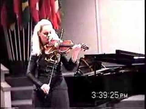 Bach Violin Sonata No. 2 A Minor Fugue - Rosalie Macmillan