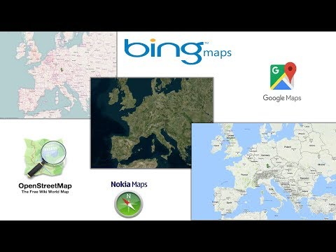 Download images from Google maps, Openstreetmap, Bing maps