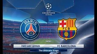 Paris Saint-Germain vs Barcelona | FINAL UEFA Champions League | PES 2018 Gameplay HD