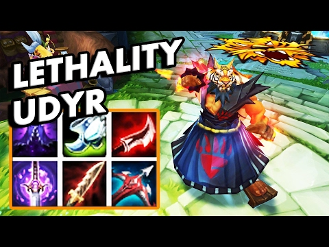 92.5 LETHALITY UDYR MONTAGE!