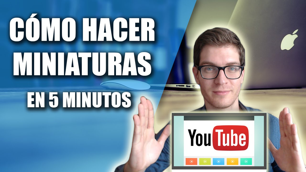Cómo Hacer Miniaturas Para Youtube En 5 Minutos Con Photoshop Cs6