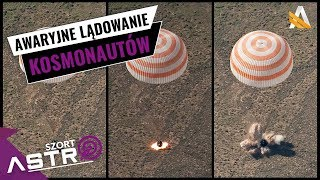 Astronauci musieli lądować awaryjnie, nieudany start Soyuz MS-10 - AstroSzort