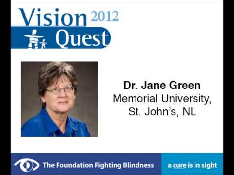 VQ 2012 - St. John's, NL - Current Advances in Treating Inherited Retinal Disease -  Dr. Green
