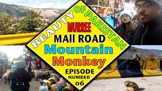 TVS EPISODE 06  Aiman Anees  Anaya Anees  Anees Qureshi ( MURREE MALL ROAD  MOUNTAIN  MONKEY )