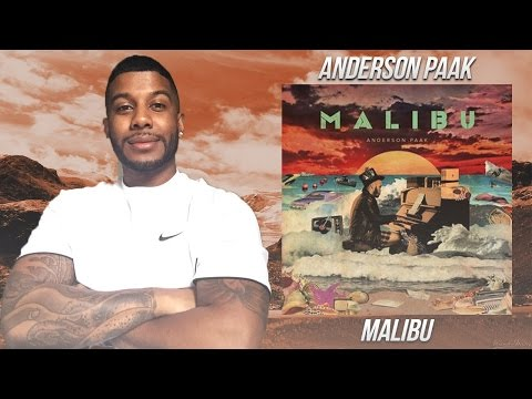 Anderson Paak - Malibu (Reaction/Review) #Meamda