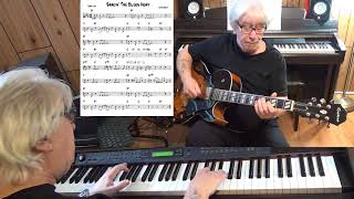Shakin' The Blues Away - Jazz guitar & piano cover ( Irving berlin )