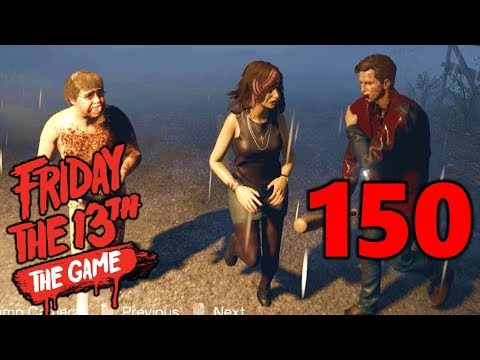 [150] Making A Stand At The Exit! (Let's Play Friday The 13th The Game)