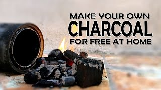Homemade Charcoal for free What the Hack #9