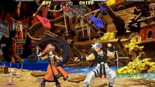 Guilty Gear ISUKA - may VS Chipp gameplay PC