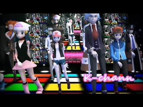 【MMD x Pokémon】Umbrella (Remix) {#2}