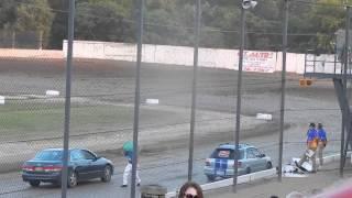 Brewerton Speedway 7/24/15  spectator race 2