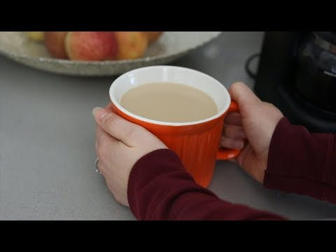 Make Your Coffee + Milk Sweeter Without Sugar (or artificial sweeteners)! Nutrition Hack!