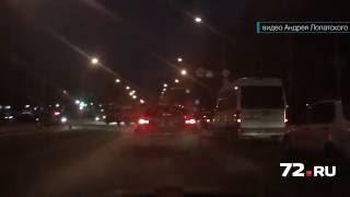 Водитель автобуса устроил ДТП