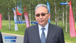 Ржевский район посетила делегация из республики Саха Якутия