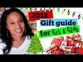 2018 CHRISTMAS GIFT GUIDE FOR HIM & HER!!!