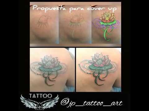 Jptattooart 7057 Flor De Loto Tattoo Youtube