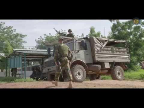 Instructeurs sous protection belge au Mali