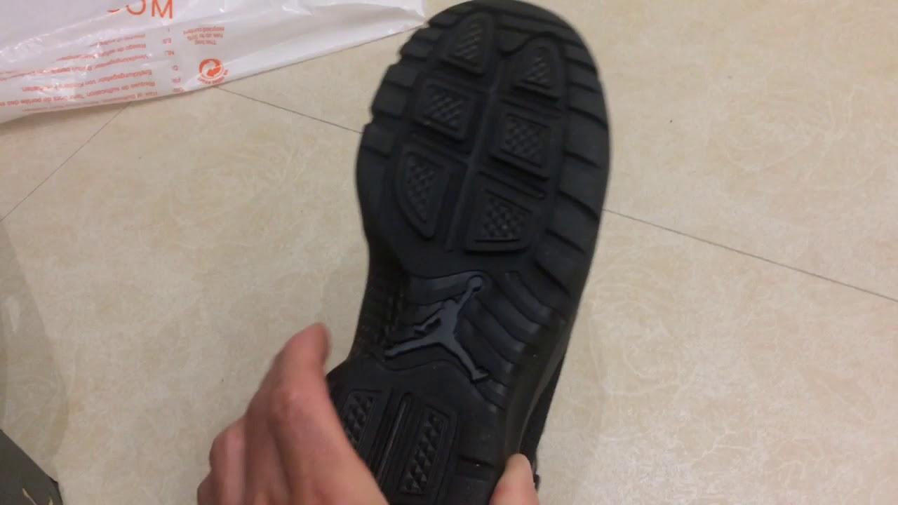 6bcce85247d2 Jordan future boot black - YouTube