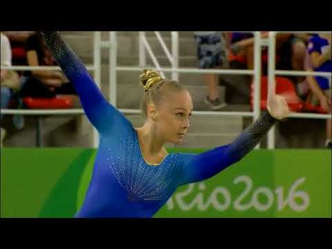 How Olympic gymnasts choose the tacky music for their floor