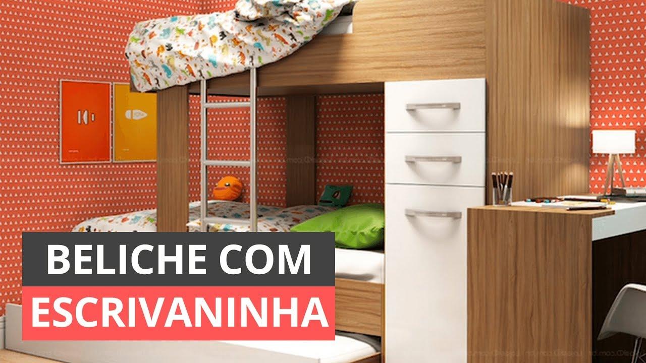 c8962f8de0 BELICHE COM ESCRIVANINHA - IDEIAS DE DECORAÇÃO. Viva Decora - Casa ...
