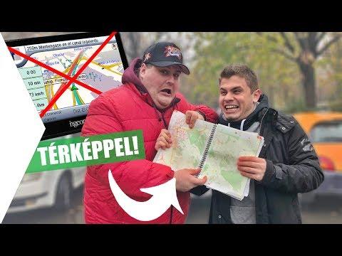 GPS helyett TÉRKÉPPEL KIHÍVÁS ISTIVEL! 😂