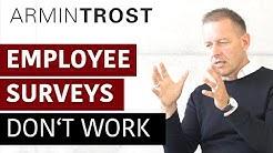 Employee Surveys don't work