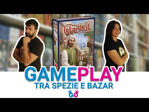 Istanbul, Partita Completa al gioco da Tavolo dei bazar turchi!