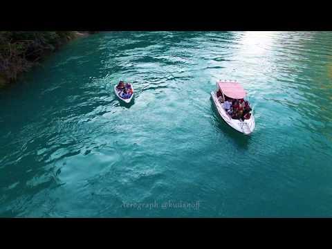 Сулакский каньон, покатушки на катерах. Гости из Астрахани