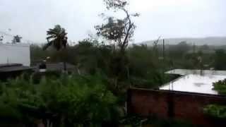 Watch Hurricane Patricia Roar On Shore!