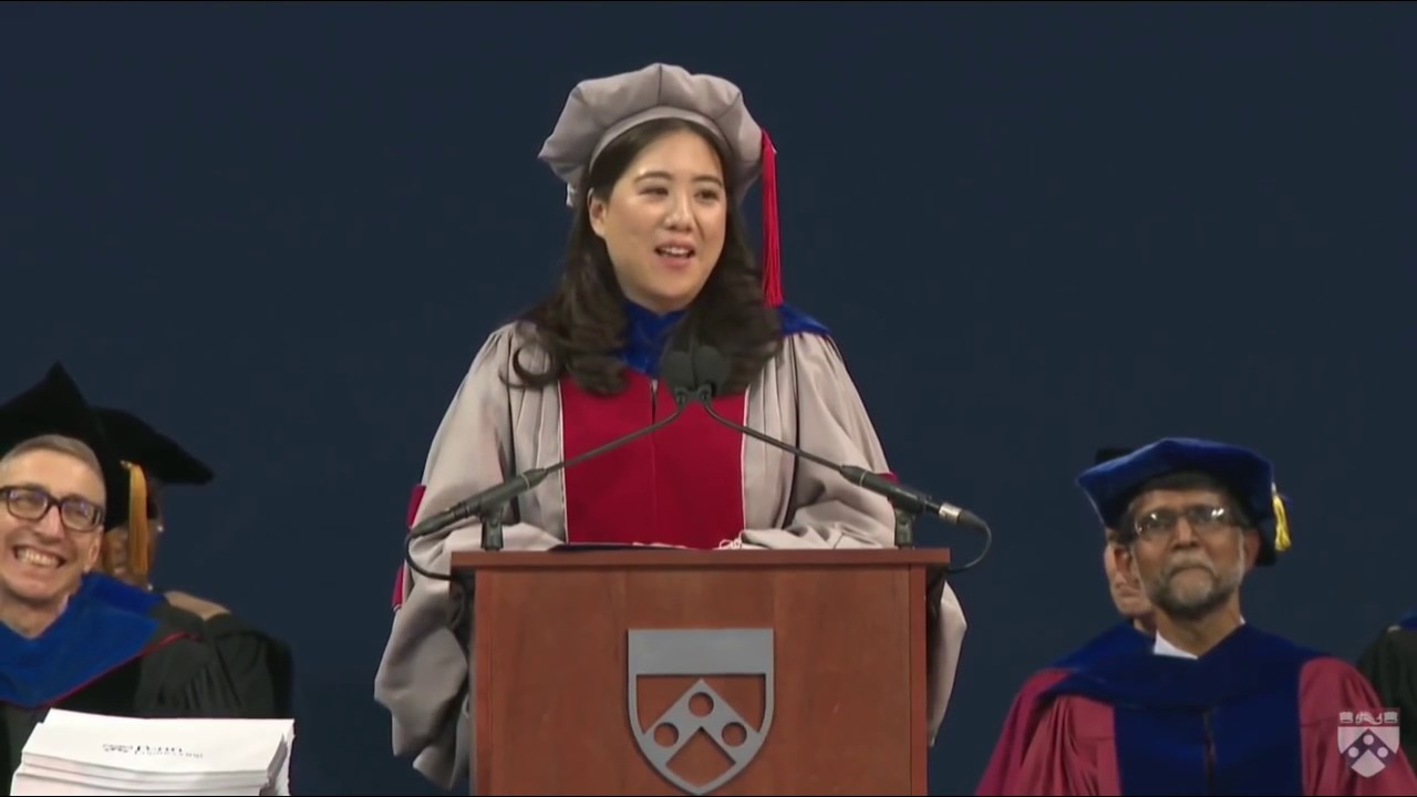 Vanessa Chan to Penn's Class of 2018: 'Failing is like farting