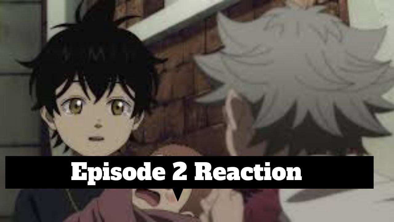 Black Clover Blind Reaction Episode 2 English Dubbed ...