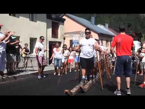 Le Tour de France des sports des terroirs: concours de Bucherons