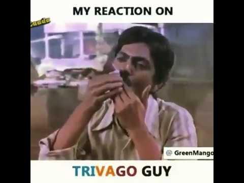 Funny Memes For A Guy : Trivago guy funny meme kya aapne kabhi online hotel search kiya