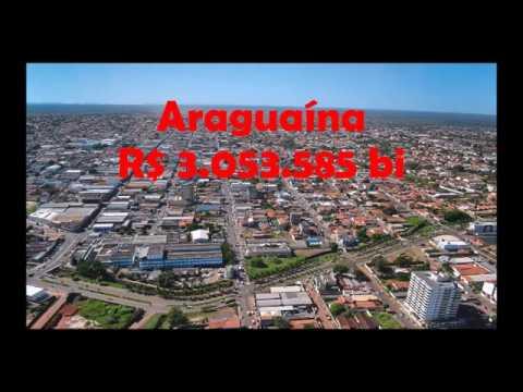Cidades mais ricas do Tocantins