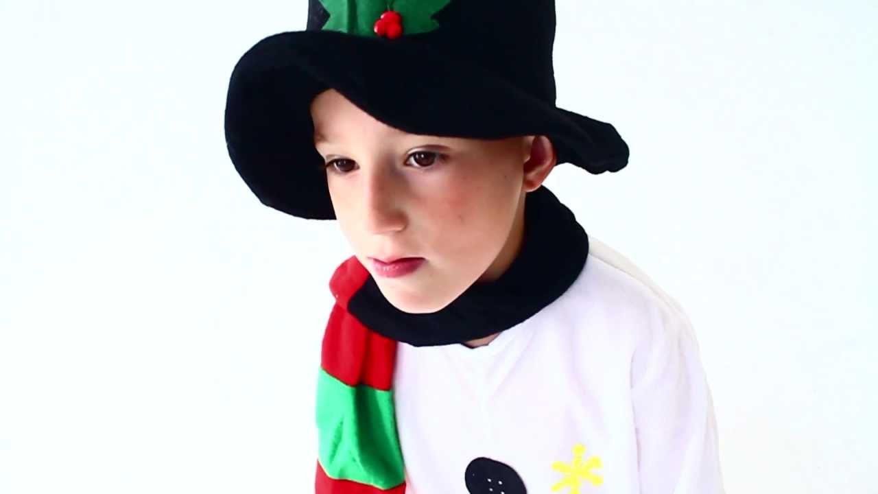 Как сделать костюм снеговика видео фото 495