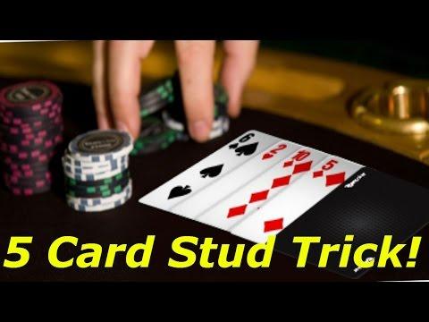 Poker 5 card stud trick
