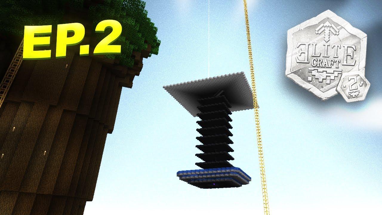 EliteCraft 2 al Estilo Rubik #2 - Traficando con Granjas y Aplanamos los Hexágonos