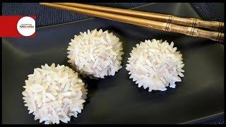 Рисовые ёжики / Мясные шарики / Необычные закуски на пару