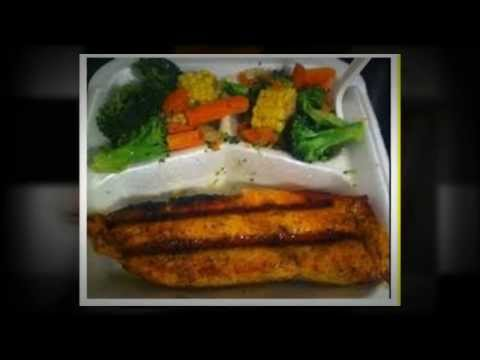 Halsey Street Grill Salmon Dinner Bed Stuy Brooklyn