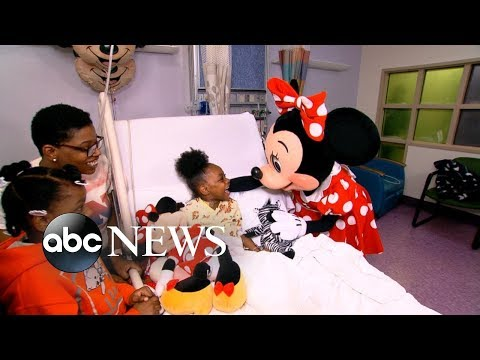 Donnie McClurkin - WATCH! 8-year-old 'medical miracle' surprised with trip to Disney World