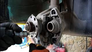 Замена передних колодок и тормозного диска Daewoo Nexia 1,5 Дэу Нексия 2001 года