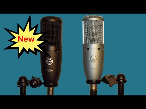 Introducing AKG's New P120 Microphone