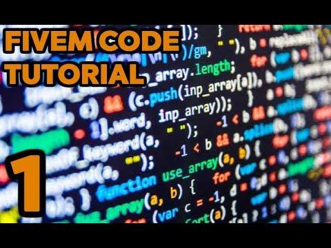 FiveM Code Tutorial 1 [Lua]