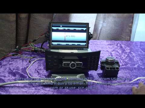 MB NTG 4.7 conversion from Europe_USA to China + video in motion software activation