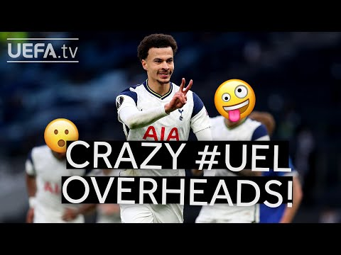 DELE ALLI's and SEVEN other #UEL overhead kick GOALS!