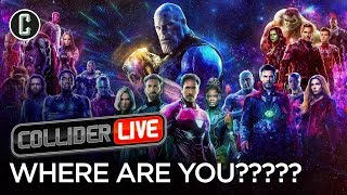 When Will the Avengers 4 Trailer Drop? - Collider Live #44