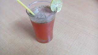 "How To Make ""watermelon Fizz"" | Making Watermelon Soft Drink"
