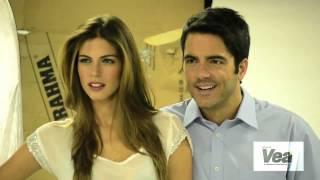 Revista VEA - Detrás de cámaras Ed. 25 - Stephanie Cayo y Ernesto Calzadilla