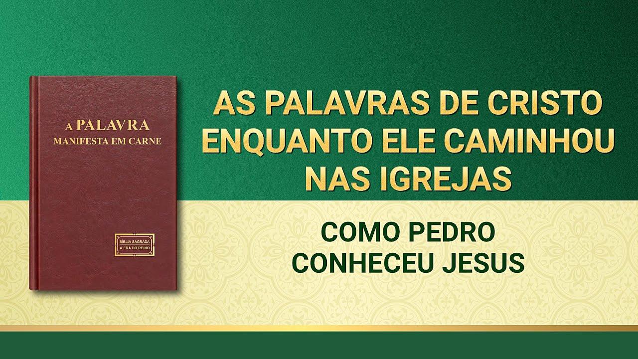 """Palavra de Deus """"Como Pedro conheceu Jesus"""""""