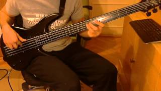 Spiral Architect - Cloud Constructor - FRETLESS BASS cover